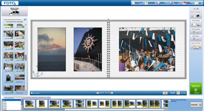 Einfache Fotobuchgestaltung mit Foto.com