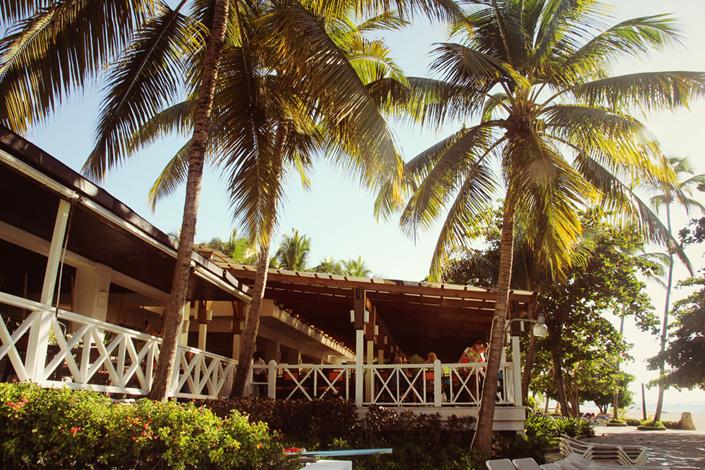 Terrasse Costa Caribe